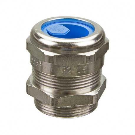 Metal EMC cable gland PFLITSCH blueglobe M32x1,5 - bg 232ms tri