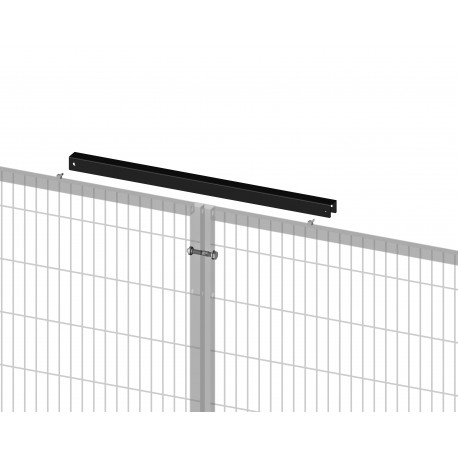 BASIC unlosable straight reinforced panel connection, 20X20 frame, RAL9005
