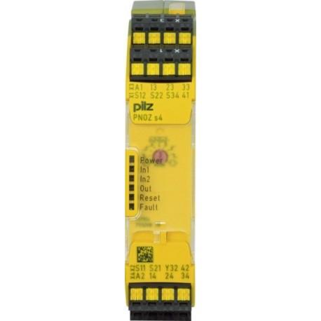 PNOZ s4 C 24VDC 3 n/o 1 n/c Saugos relė