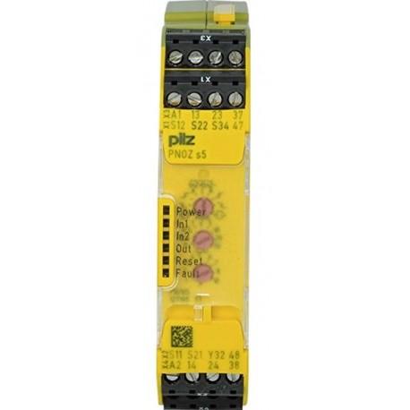 PNOZ S5 24VDC 2 n/o 2 n/o t Saugos relė