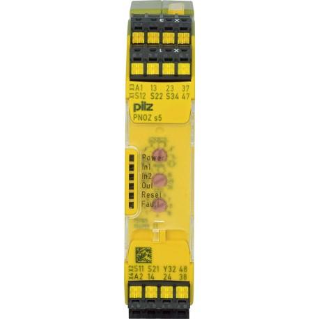 PNOZ s5 C 24VDC 2 n/o 2 n/o t Saugos relė
