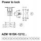 AZM 161SK-12/12RKA-024 Elektromagnetinė spyna