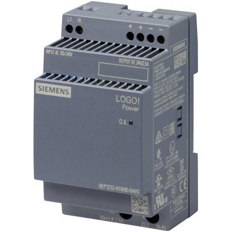 LOGO!POWER 24 V / 2.5 A Stabilized power supply