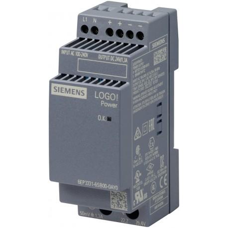 LOGO!POWER 24V / 1.3 A Stabilized power supply