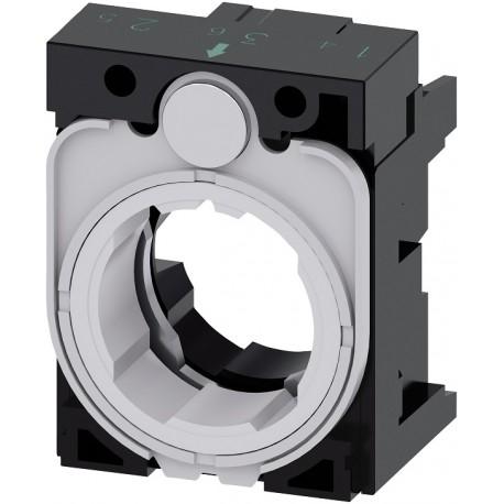 Holder for 3 modules, plastic