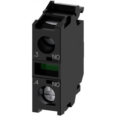 Kontaktinis modulis 1NO, su 1 kontaktiniu elementu