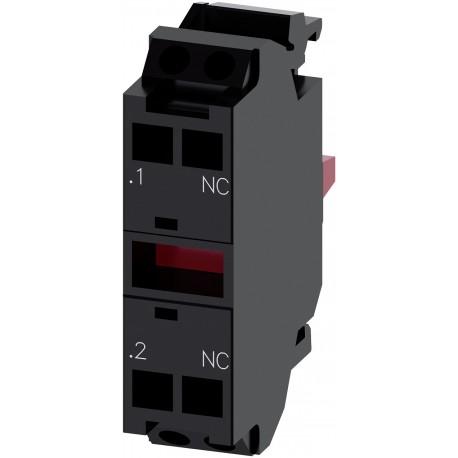 Kontaktinis modulis 1NC, su 1 kontaktiniu elementu