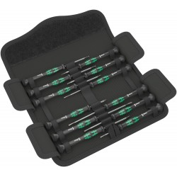 Kraftform Micro 12 Universal 1 Screwdriver set for electronic applications, 12 pieces