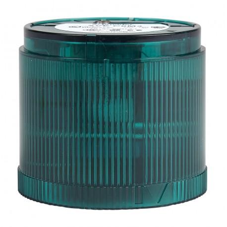 Modulis LED 230VAC žalias, Ø70mm