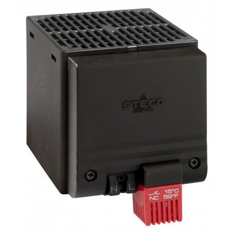 CSF 028 šild. 400W 230VAC DIN+termostatas 15°C