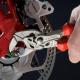 Reguliuojamo išsiplėtimo veržlinės replės 180mm