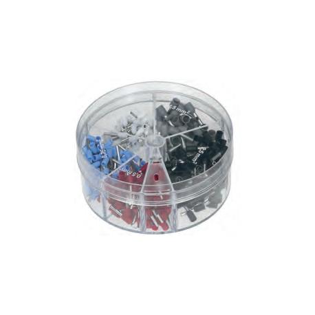 Izoliuotų antgalių rinkinys L8 0,5-2,5mm²