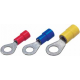 Insulated cable lug Ring-type DIN 46237, 0,5-1mm² - M6, 100pcs