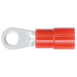 Antgalis kilpa izoliuotas 0,5-1mm² M5 RD DIN46237, pakiukyje 100vnt.