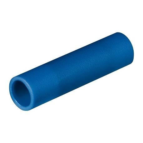 DR.01081-P ∙ Įzoliuota gilzė 1,5-2,5mm² BU, laidų sujungimui, pakiukyje 100vnt.
