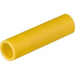 Įzoliuota gilzė 4-6mm² YE, laidų sujungimui, PVC,pakiukyje 100vnt.