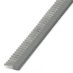 Insulated cable sleeve in strip 0,75mm² -8 Gray 100pcs.
