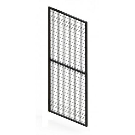 ADAPTAGUARD durų segmentas 800x2080mm, rėmas 30x30mm, tinklas - 28x64mm, RAL9005