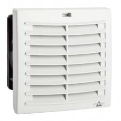FPI 018 Filtrų ventiliatorius PLUS (Airflow IN) 52 m3/h, 230VAC, 124x124mm