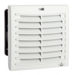 FPO 018 Filtrų ventiliatorius PLUS (Airflow OUT) 97 m3/h, 230VAC, 124x124mm