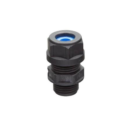 Plastikinis kabelio sandariklis Blueglobe M16x1,5, juodas