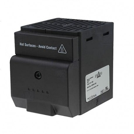 CS028, ventil. šildyt. 230VAC, 50/60Hz, 150W