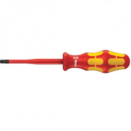 160 iS VDE Insulated screwdriver with reduced blade diameter for slotted screws