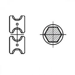 Matrica S2 neįzoliuotiems antgaliams 70mm²
