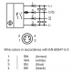 Trianguliacinis padėties jutiklis (BGS) OBT600-R200-2EP-IO-V31-L