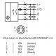 Triangulation sensor (BGS) OBT600-R200-2EP-IO-V31-L