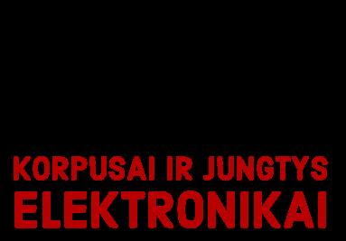 Korpusai ir jungtys elektronikai